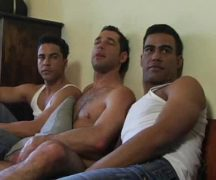 Porno gay gang bang com machos safados